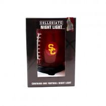 "USC Trojans Night Light - 8"" Table Top Football Style Night Light - 2 For $8.00"