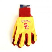 USC Trojans Gloves - Script USC Logo - Red.Yellow -$3.50 Per Pair