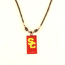 USC Trojans Necklaces - Diamond Plate Style - $3.50 Each