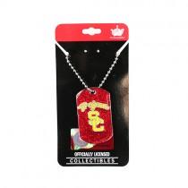 USC Trojans Necklaces - Glitter Series Pendants - 12 For $30.00