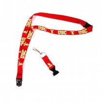 USC Trojans Lanyards - (Pattern May Be Different Than Pictured) - With Neck Release - 12 For $24.00
