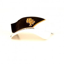 UCF Golden Knights Merchandise - Split Style Black.White Gameday Visors - 12 For $30.00