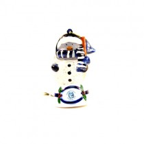 UCONN Huskies Ornaments - Snowman Scarf Dude - 12 For $24.00