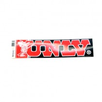 """Blowout - UNLV Bumper Stickers - 3""""x12"""" Win Style - 24 For $24.00"""