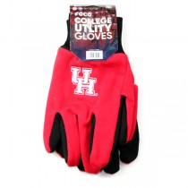 Houston Cougars Gloves - Grip Style - 12 Pair For $36.00
