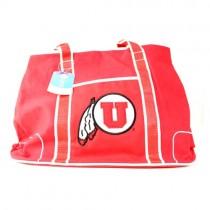 Utah Utes Handbags - Oversized - The Flat Bottom Series - 2 For $20.00