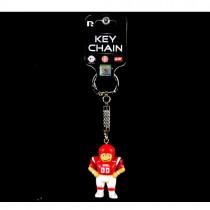 Utah Utes Keychains - Football Man Style - Lil Bratz - 12 For $18.00
