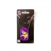 Minnesota Vikings Necklaces - Glitter Pendant Series - 12 For $30.00