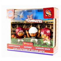 Virginia Tech Toys - 3Pack Lil Teammates With Referee - $7.50 Per Set