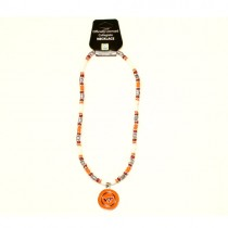 "Virginia Tech Necklaces - 18"" Natural Stone - 12 Necklaces For $84.00"