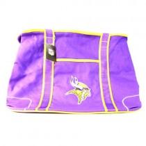 Minnesota Vikings Purses - Oversized - The Flat Bottom Series - 2 For $20.00