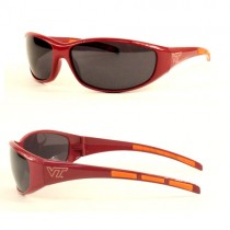 Virginia Tech Sunglasses - 3DOT Sport Style - 12 Pair For $60.00