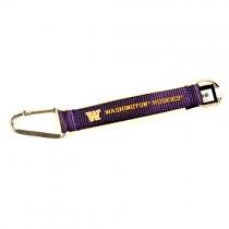 "Washington Huskies Keychain - 8"" Carabiner - 12 For $24.00"