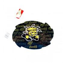 "WSU Shockers Magnets - 5"" Swirl Wordmark Style - 12 For $18.00"
