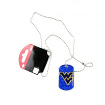 West Virginia Mountaineers Necklaces - Glitter Series Pendants - 12 For $30.00