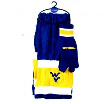 West Virginia Mountaineers Sets - Scarf And Glove Set - $12.50 Per Set