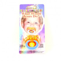 WWJD Pacifiers - Billy Bob Merchandise - 12 For $12.00