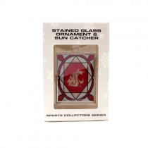 Washington State Ornament - Stained Glass Suncatcher Style Ornament - 12 For $30.00