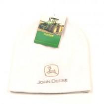 Overstock - John Deere - White Beanies With Gray Logo - 12 For $48.00