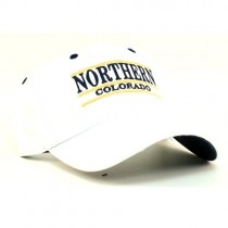 Northern Colorado Merchandise - White 3Bar Hats - $5.00 Each