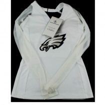 Philadelphia Eagles Shirts - Women's White Coutre - High End Clothing - Assorted Sizes - 3 For $45.00