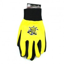 Wichita State Shockers - (Pattern May Be Different Than Pictured) - Black Palm Series - Grip Gloves - 12 Pair For $36.00