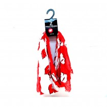 Wisconsin Badgers Scarves - Split Logo Style - Infinity Scarf - 2 For $15.00