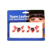 Wisconsin Badgers Merchandise - Team Eyelash Sets - 12 Sets For $24.00