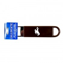 Wyoming Cowboys - PRO Style Bottle Openers - 12 For $30.00