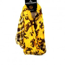 University Of Wyoming Scarves - Tartan Style Infinity Scarves - 2 For $15.00