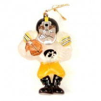 Iowa Hawkeyes Ornaments - ACRYLIC Football Player Style - 12 Ornaments For $36.00