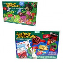 Learning Games - Anatomy Adventure - Chew-Nami - 2 Games For $10.00