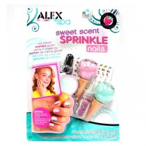Wholesale Fashion - Alex Spa Sprinkle Nails Set - 12 Sets For $24.00
