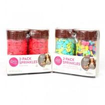 Assorted Sprinkles - 2Pack Of 6OZ Sprinkles Set - 36 2Pack Sets For $23.40
