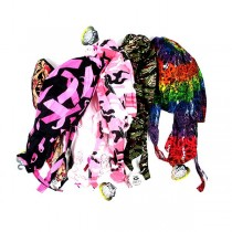Assorted Doo-Rags - May Not Be As Pictured - 24 Pair For $36.00