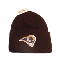 NFL Rams Black Embroidered Knit Hat $6.00 Each