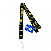 Cal Golden Bears Merchandise - 2Side TC Lobster Claw Lanyards - 12 For $30.00