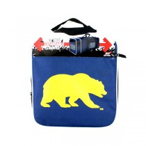 "Cal Golden Bears Merchandise - 28"" Steal Expandable Duffel Bags - 2 For $30.00"