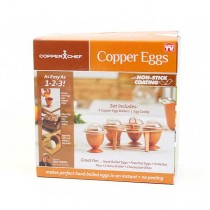 Copper Eggs - As Seen On TV - 2 For $10.00