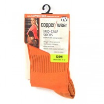 Copper Socks - ASOTV - Size S/M - 12 Pair For $24.00