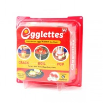 As Seen On TV Merchandise - Egglettes - 4Piece Set - 12 Sets For $36.00