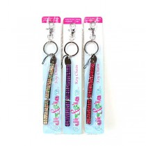 Wholesale Fashion Apparel - Glitz Bling Carabiners - Assorted Colors - 12 For $12.00