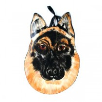 """German Sheppard - 9"""" Ceramic Serving Trays - 2 For $10.00"""