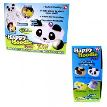 Happy Hoody - ASOTV - Convertible Jacket/Backpack - Assorted Animals - 12 For $66.00