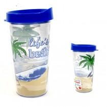 Lifes A Beach - 16OZ Tritan Tumblers - 12 For $42.00