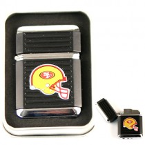 San Francisco 49ers Lighters - Butane - Wholesale Lighters - $6.50 Each