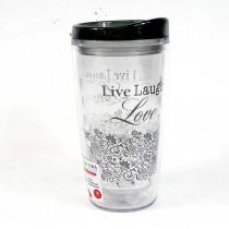 Live Laugh Love - 16OZ Tritan Tumblers - 12 For $42.00
