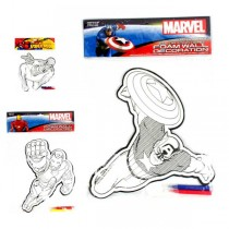 Marvel Merchandise - Assorted Foam Color Me Wall Decor - 48 For $28.80