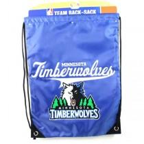 Minnesota Timberwolves Merchandise - Team Spirit Back Sack - 12 For $48.00