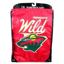Minnesota Wild Merchandise - Team Spirit Back Sack - 2 For $10.00